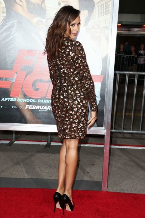 Dania Ramirez At Ffist Fight Premiere In Westwood Dania Ramirez