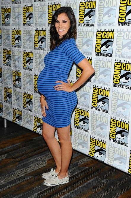 Daniela Ruah At Cbs Television Press Line At Comic Con International In San Diego Daniela Ruah