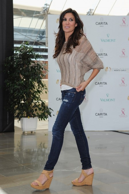 Daniela Ruah Ncis Los Angeles Photocall During Nd Monte Carlo Tv Festival In Monaco June Beach