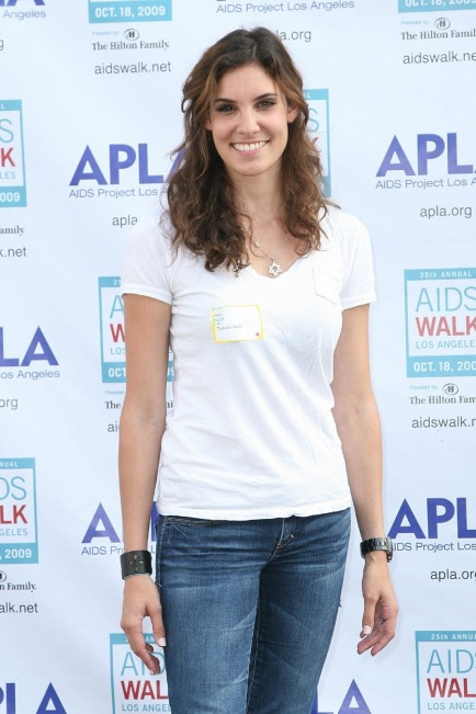 Th Annual Aids Walk Los Angeles Daniela Ruah Daniela Ruah