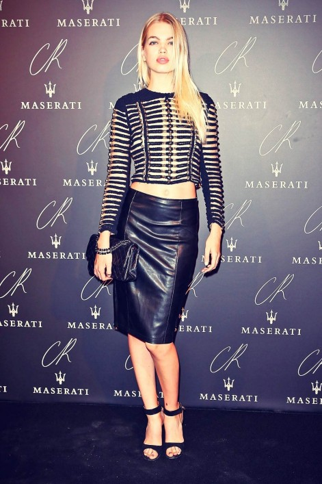 Daphne Groeneveld Attends The Cr Fashion Book Issue Daphne Groeneveld