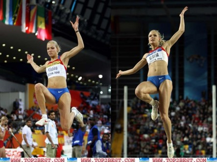 Darya Klishina Russian Long Jumper Darya Klishina