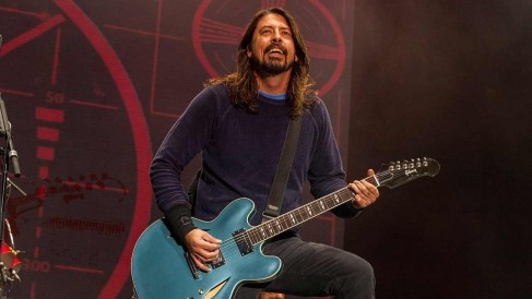 Dave Grohl Shared Image China
