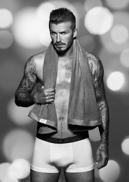 David Beckham Hm Bodywear Fashion
