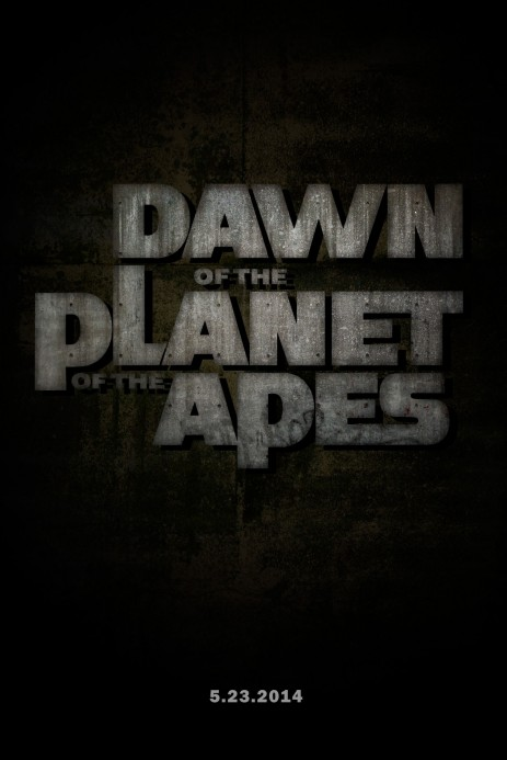 Dawn Of The Planet Of The Apes Poster Dawn Of The Planet Of The Apes