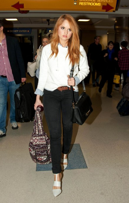 Debby Ryan Candis From Lax Airport March Debby Ryan