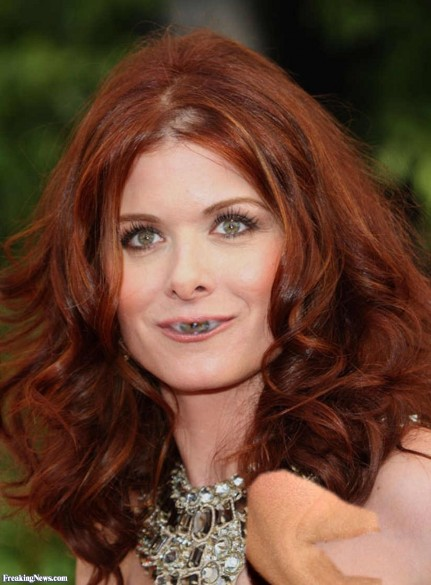 Debra Messing Eye Mouth