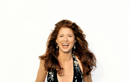 Debra Messing Laughing Debra Messing