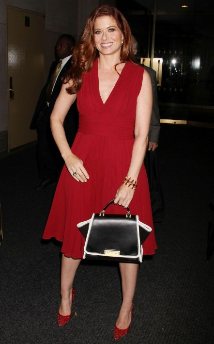 Debra Messing Street Style Leaving Today Show Debra Messing