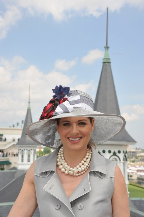 Kentucky Derby Debra Messing