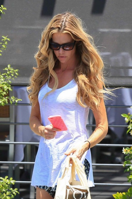 Denise Richards Was Seen Out In Malibu Denise Richards