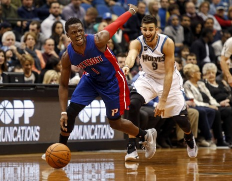 Nba Detroit Pistons At Minnesota Timberwolves Detroit Pistons