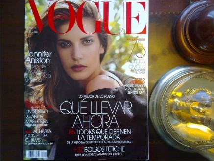 Diana Dondoe En Revista Vogue Jennifer Aniston Mlm