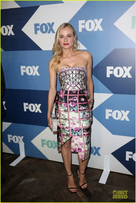 Diane Kruger Fox Summer Tca All Star Party Style