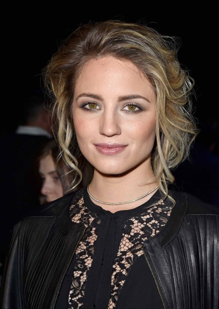 Dianna Agron Attends The Elie Saab Show At Paris Fashion Week Dianna Agron