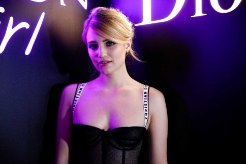 Dianna Agron Dior Poison Girl Eau De Toilette International Launch In New York On January Dianna Agron