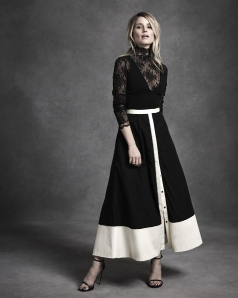 Dianna Agron In Photoshoot For La Ligne Clothing Collection By Ungano Agriodimas June Dianna Agron
