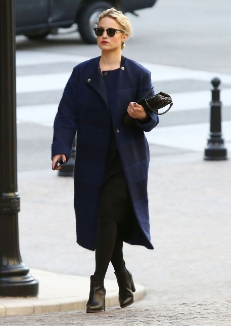 Dianna Agron Style Out In Beverly Hills February Dianna Agron