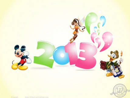 Abstract Free Disney Chinese New Year Wallpaper