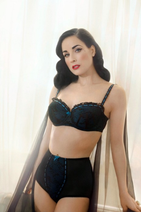 Dita Von Teese Releases New Lingirie Line Named The Von Follies Line