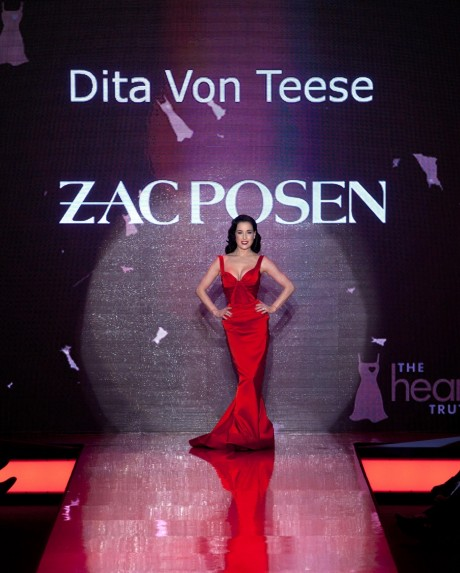Dita Von Teese The Heart Truth Red Dress Collection Opt Dita Von Teese