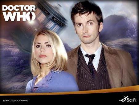 Billie Piper In Doctor Who Tv Series Wallpaper Tv