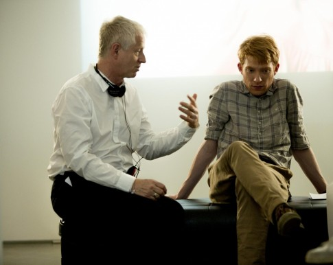 Richard Curtis And Domhnall Gleeson In About Time