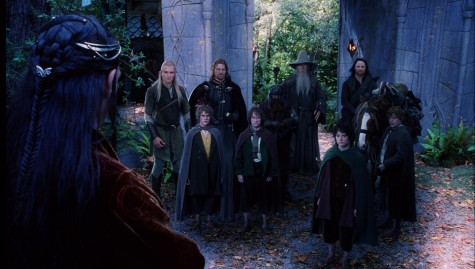 Still Of Sean Astin Sean Bean Elijah Wood Viggo Mortensen Ian Mckellen Orlando Bloom Billy Boyd And Dominic Monaghan In The Lord Of The Rings The Fellowship Of The Ring Large Picture Lord Of The Rings