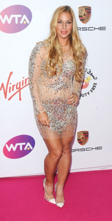 Dominika Cibulkova Wta Pre Wimbledon Party At Kensington Roof Gardens In London Dominika Cibulkova