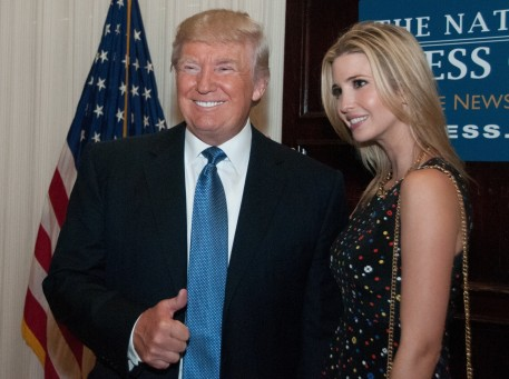 Donald Trump And His Daughter Ivanka Donald Trump