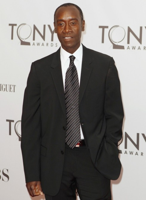 Actor Don Cheadle Poses He Arrives During American Theatre Wing Th Annual Tony Awards Don Cheadle