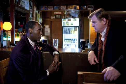 Picture Of Don Cheadle And Brendan Gleeson In The Guard Large Picture