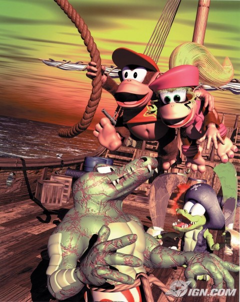 Donkey Kong Country Diddys Kong Quest Foto Donkey Kong Country