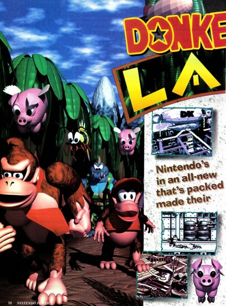 Donkeykong Land Preview Vol Pg