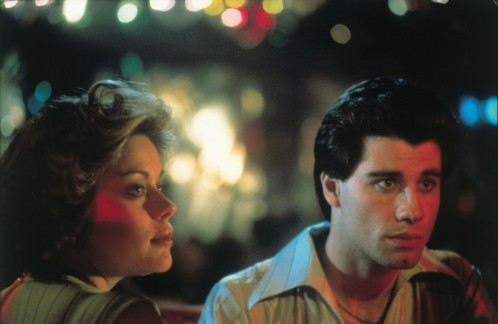 Still Of John Travolta And Donna Pescow In Saturday Night Fever Large Picture