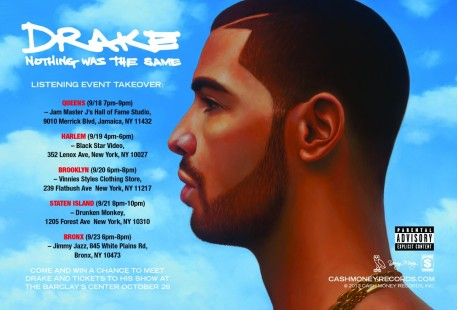 Drake Nwts Postcard Front Nothing Was The Same