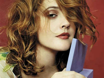 Drew Barrymore Golden Hair