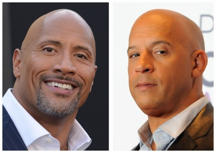 Dwayne Johnson Vin Diesel Dwayne Johnson