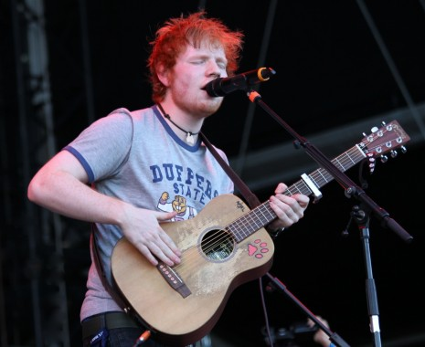 Ed Sheeran At Frequency Festival In Austria Ed Sheeran