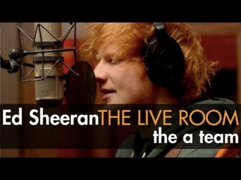 Ed Sheeran The Team Captured In The Live Room
