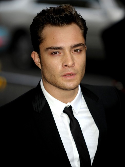 Ed Westwick In Formal Dress