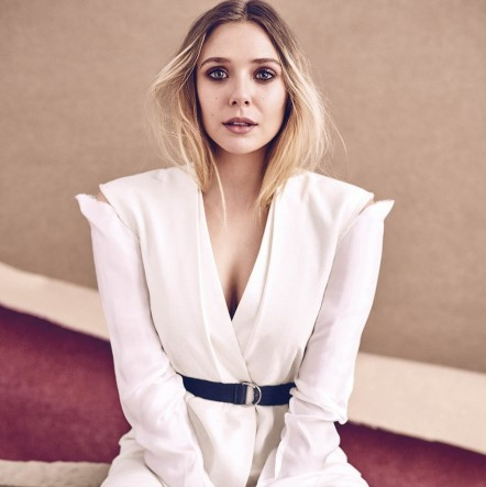 Elizabeth Olsen Sunday Times Photoshoot April Elizabeth Olsen