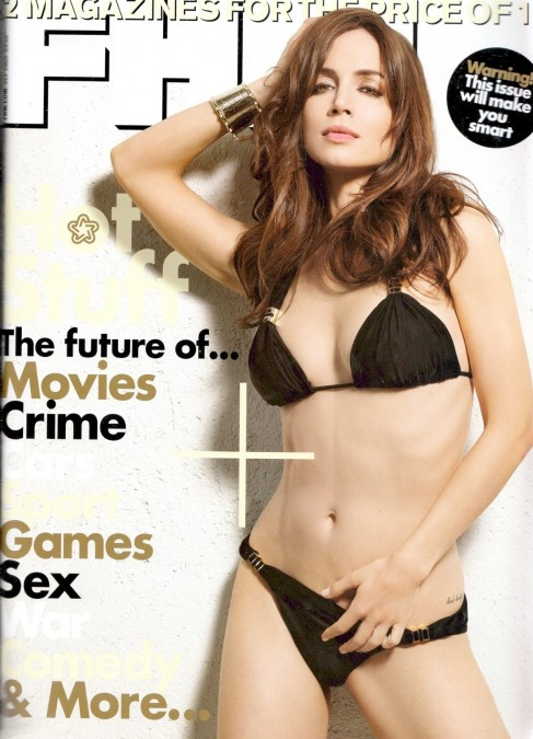 Eliza Dushku Magazine Fhm Hot
