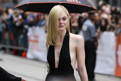 Elle Fanning Hot In Functions Elle Fanning