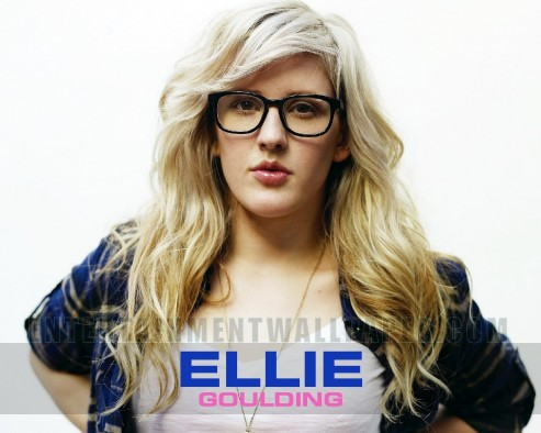 Ellie Goulding Indie Pop Wallpaper Normal Wallpaper