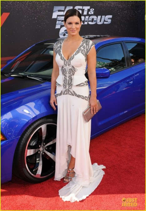 Michelle Rodriguez Elsa Pataky Fast Furious Los Angeles Premiere Fast And Furious