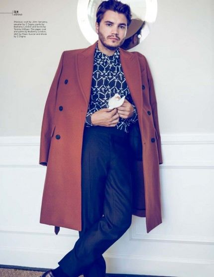 Emile Hirsch For Fault Issue Emile Hirsch