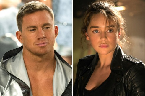Emilia Clarke Channing Tatum Summer Showdowns Movies