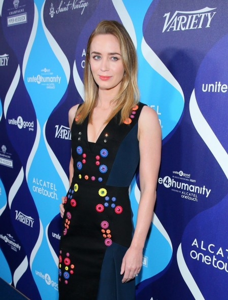 Emily Blunt Attend The Nd Annual Unite Humanity Event In Beverly Hills