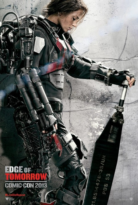 Emily Blunt In Edge Of Tomorrow Movie Poster Movies